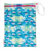 Smart Bottoms ON THE GO Wet Bag WATER LILIES