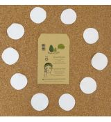 Avo&Cado Cleansing Pads WHITE